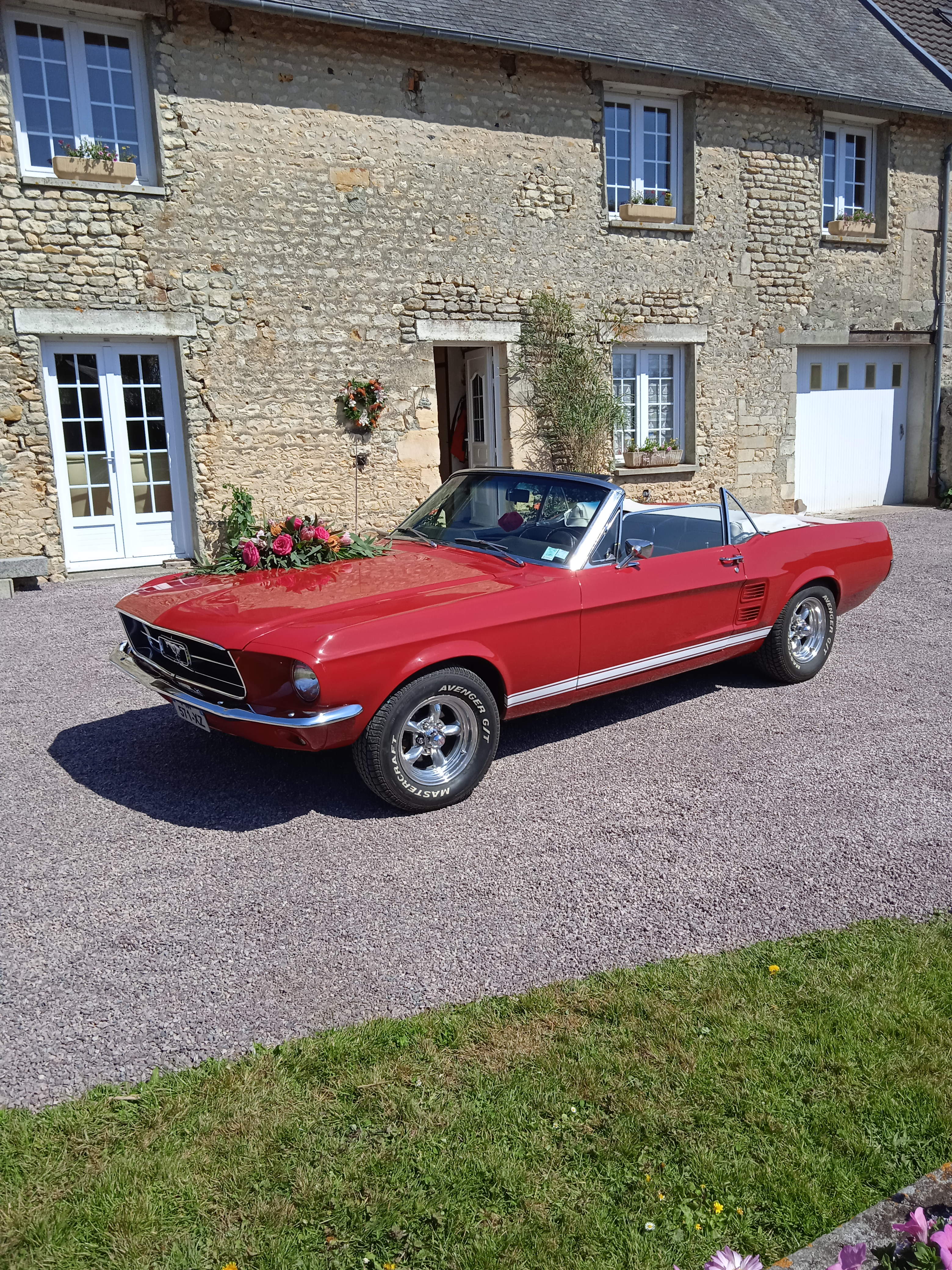 FORD mustang convertible v8 4.7l auto 2