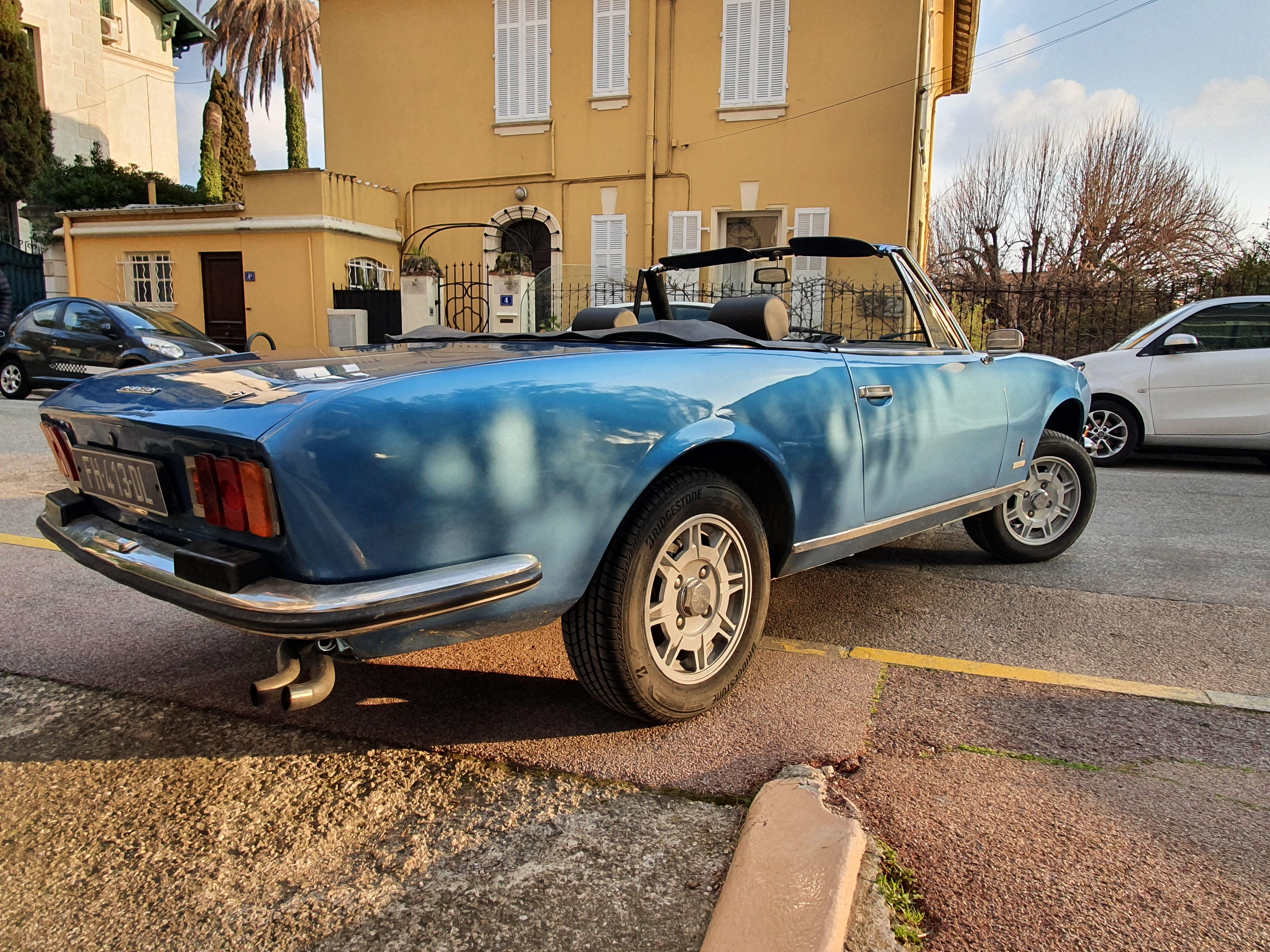 PEUGEOT 504 V6 Cabriolet 1