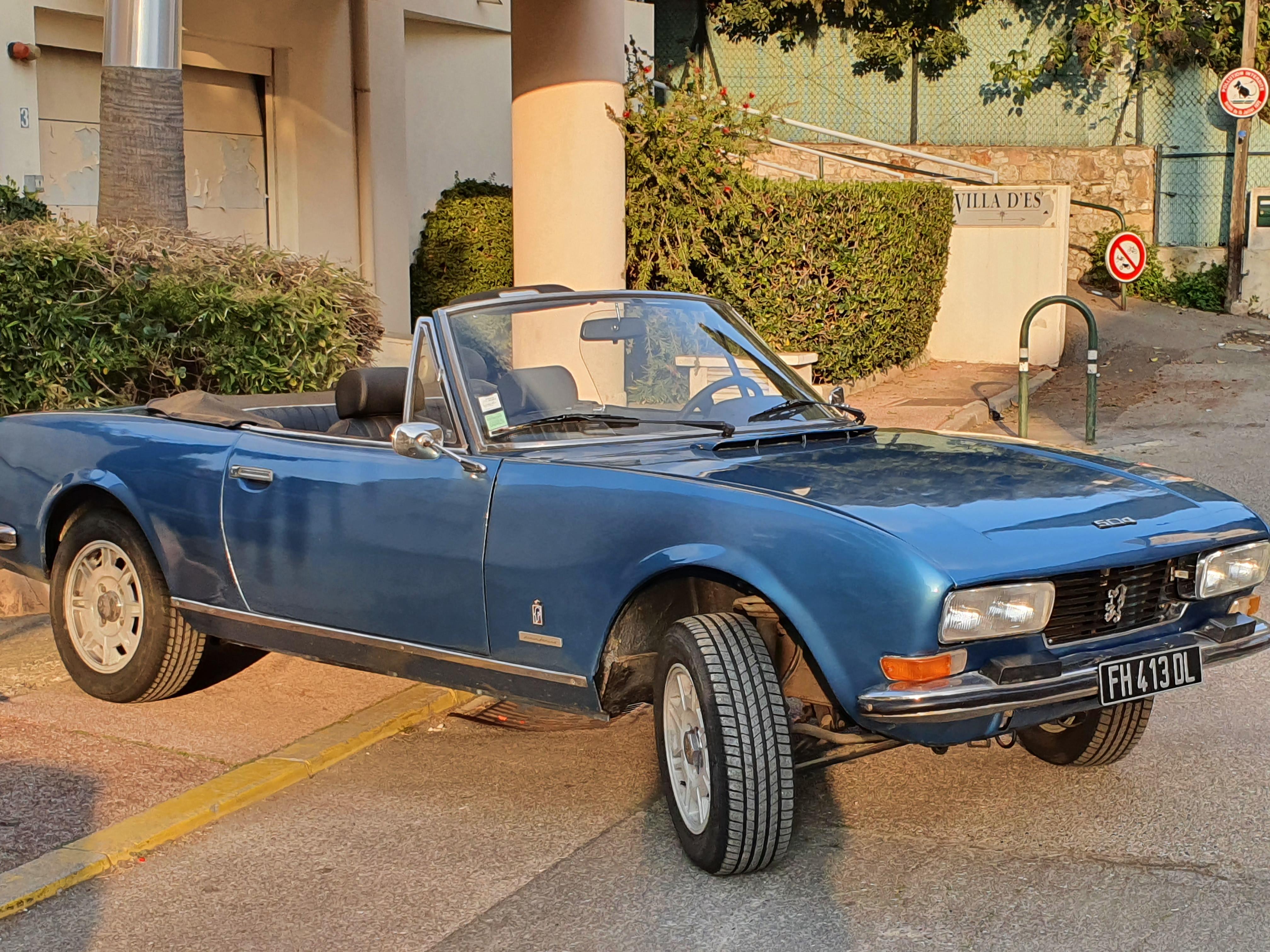 PEUGEOT 504 V6 Cabriolet 0