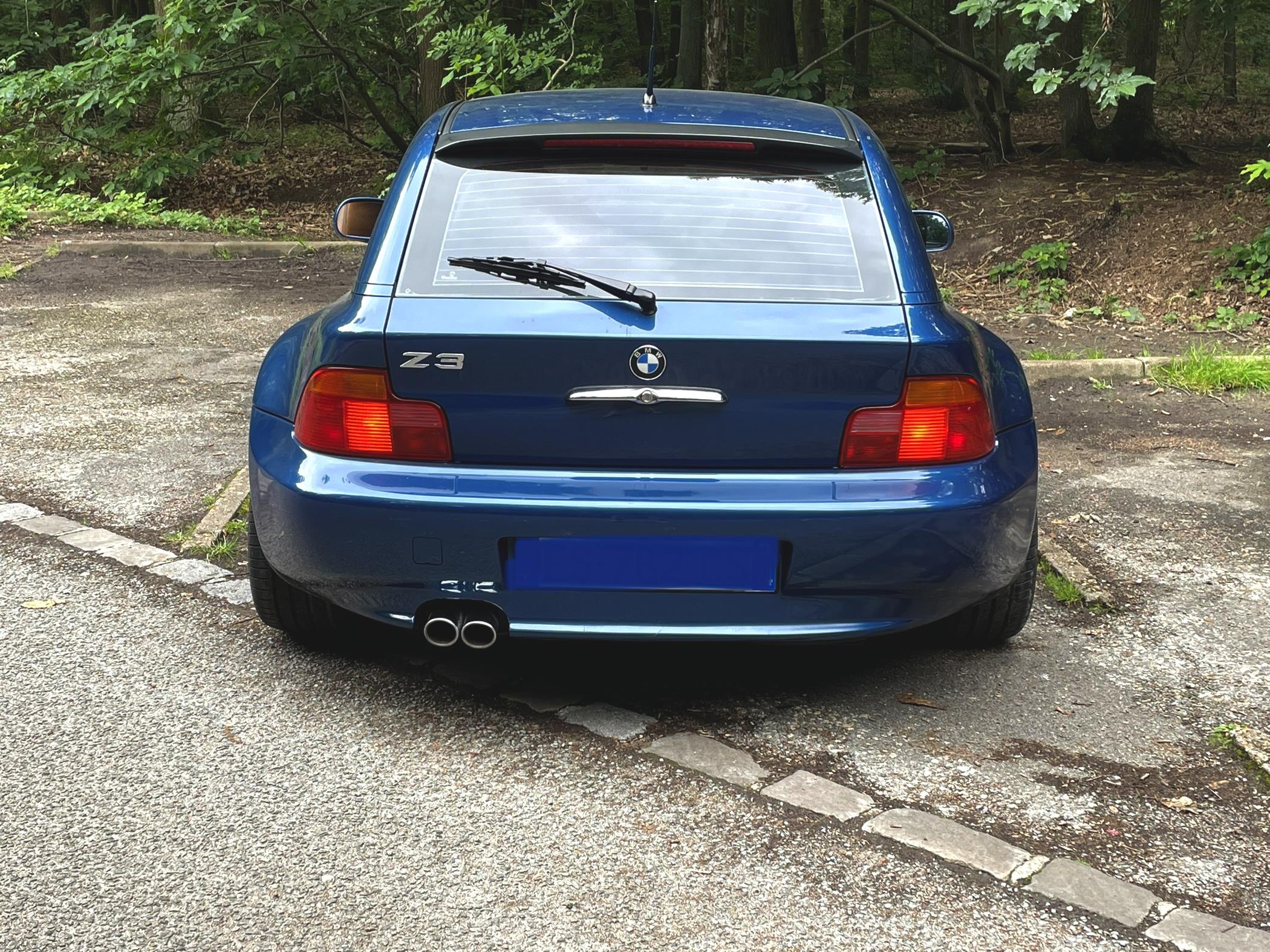 BMW Z3 coupé 2