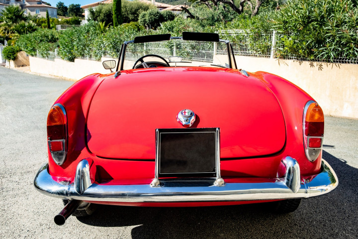 ALFA ROMEO Spider Giulia  1