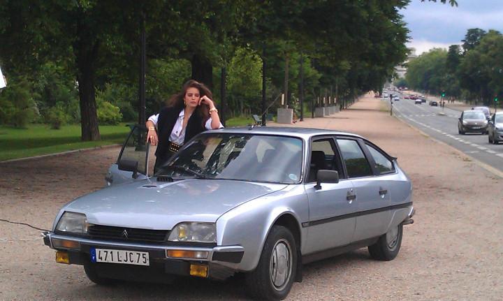 CITROEN CX 2500 gti turbo  0