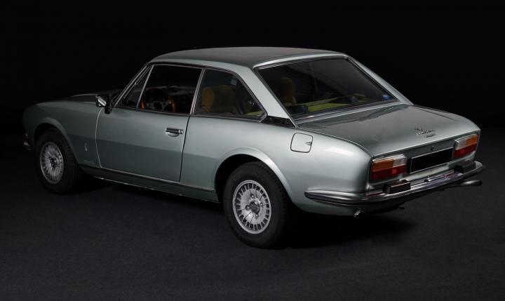 PEUGEOT 504 TI coupé V6 2