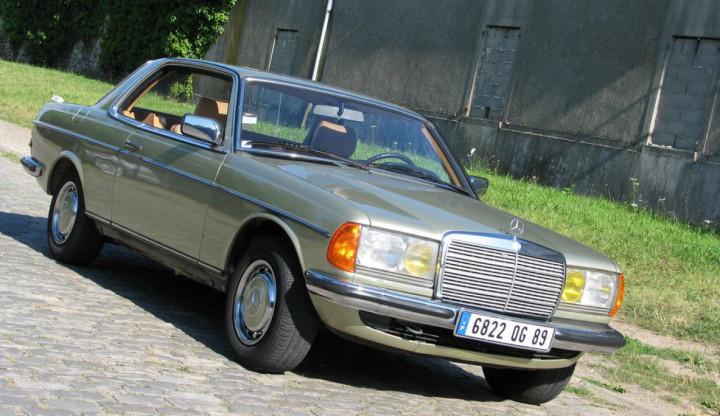 MERCEDES Type 123 230 CE coupé 0