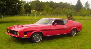 FORD mustang Mach 1 0