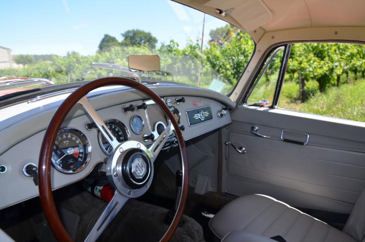 MG MGA coupé 1