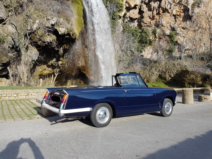 TRIUMPH Herald 13/60 cabriolet 0
