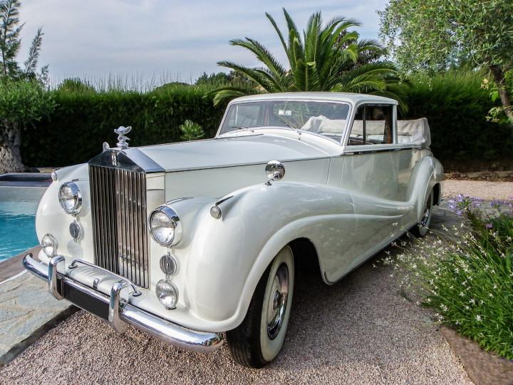 ROLLS ROYCE Silver Wraith Landaulet 0
