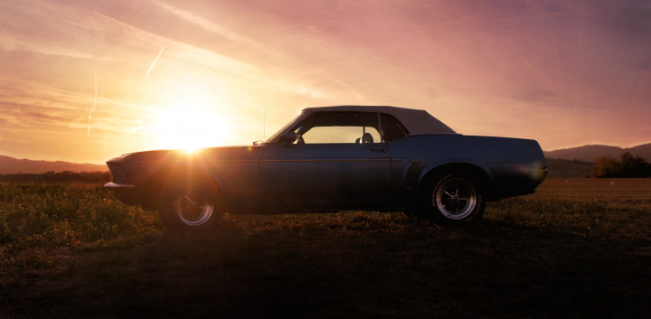 FORD Mustang 302 ci convertible  1