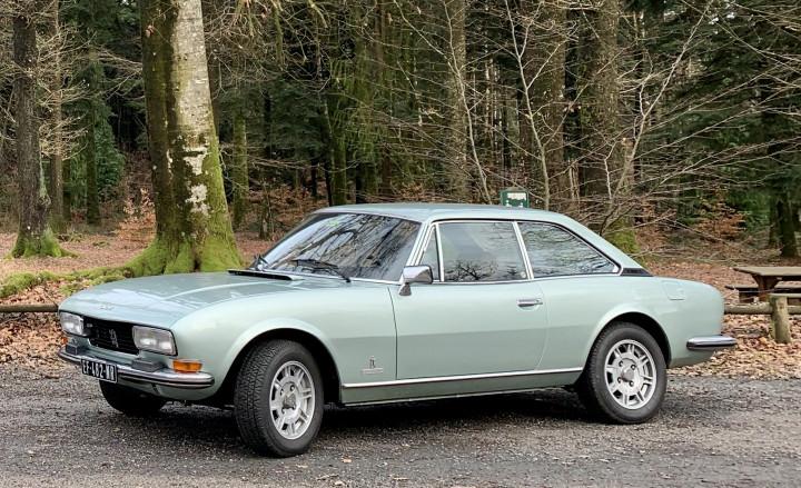 PEUGEOT 504 coupé 2.0l 3