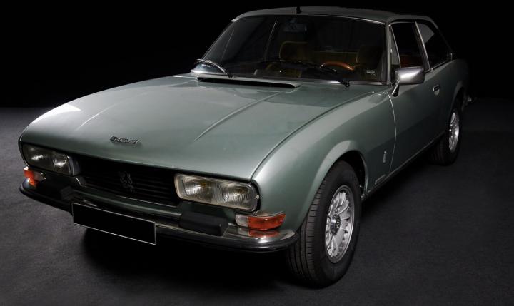 PEUGEOT 504 TI coupé V6 0