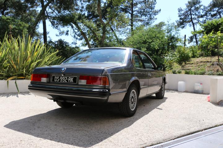 BMW 630CS E24 série 6 1