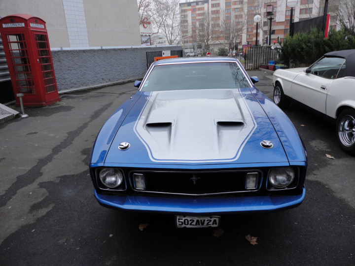 FORD mustang MACH1 2
